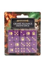 Games Workshop Age of Sigmar: Grand Alliance Death Dice Set