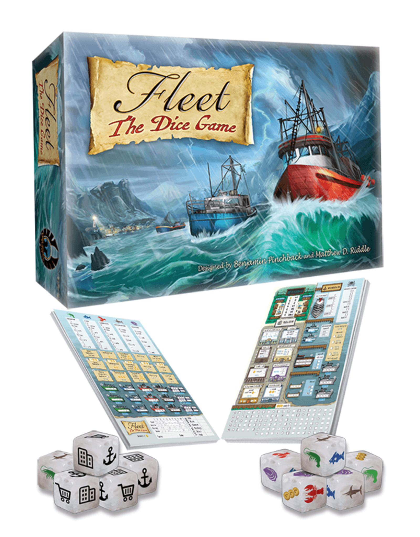Eagle-Gryphon Games Fleet: The Dice Game (2nd Edition)