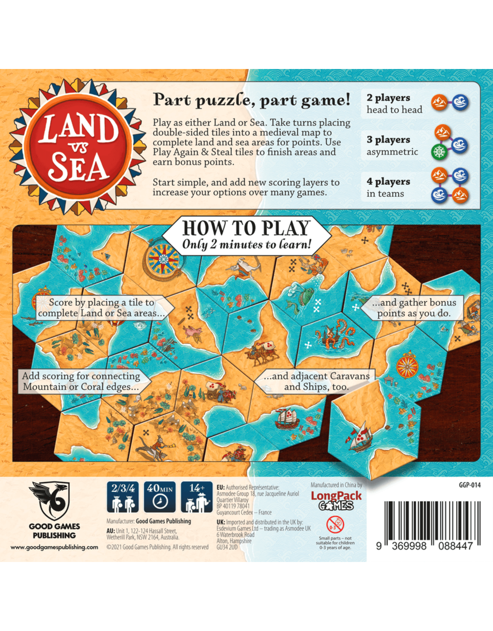 Good Games Publishing Land VS Sea
