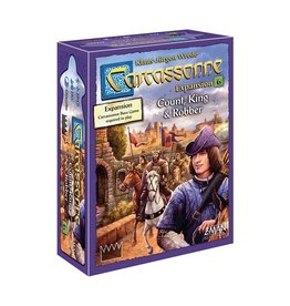 Z-Man Games Carcassonne: Count, King & Robber Expansion