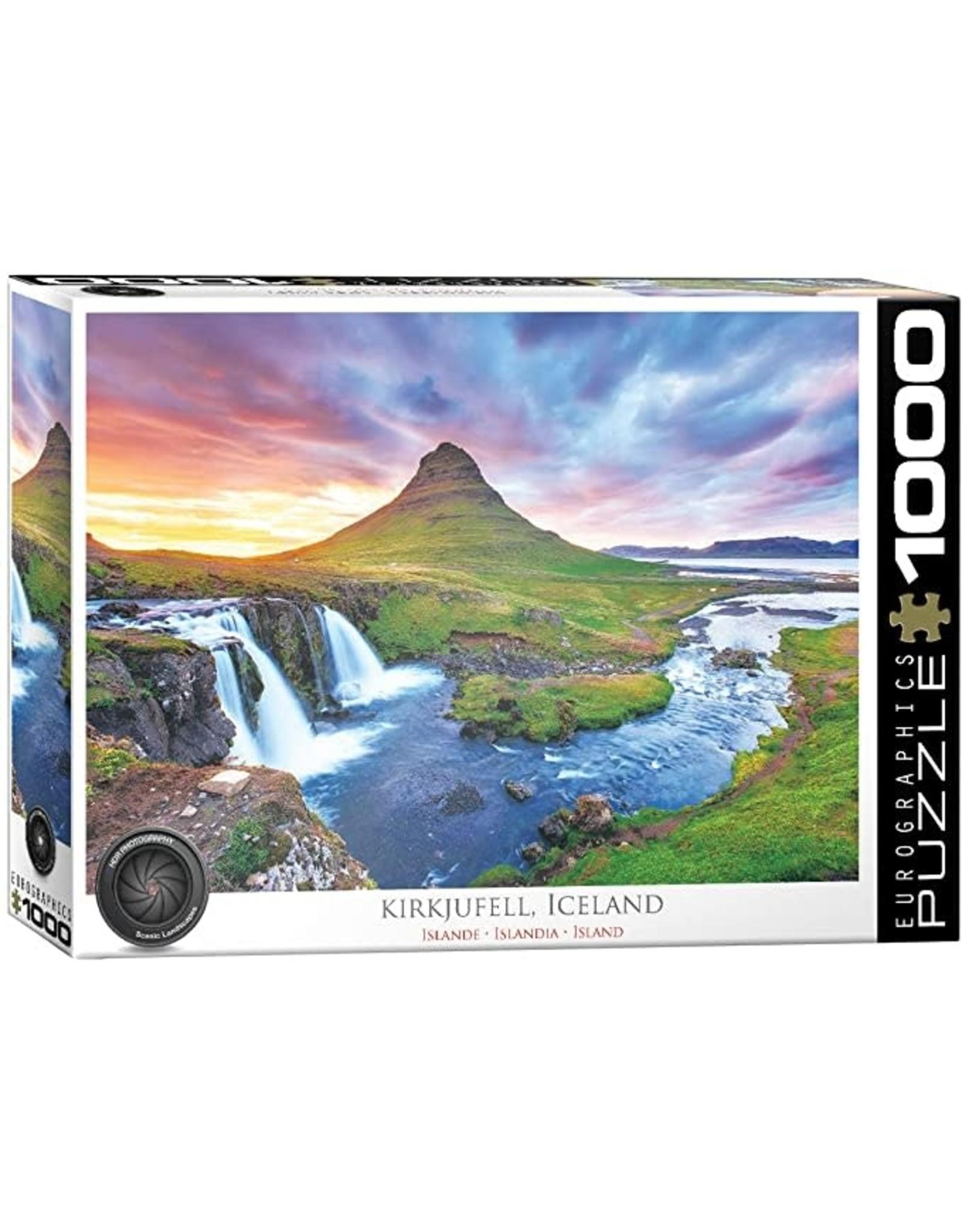 "Eurographics ""Kirkjufell Mountain, Iceland"" 1000 Piece Puzzle"