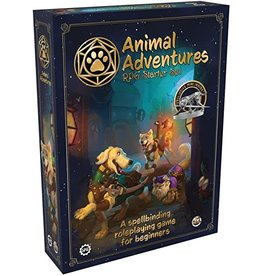 Steamforged Games LTD Animal Adventures  RPG Starter Set