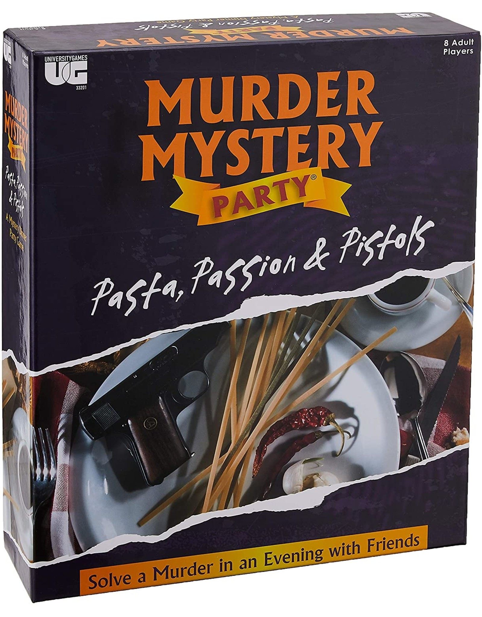 University Games Murder Mystery Party