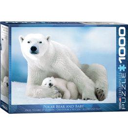 "Eurographics ""Polar Bear & Baby"" 1000 Piece Puzzle"