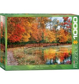 "Eurographics ""Sharon Woods, Ohio"" 1000 Piece Puzzle"