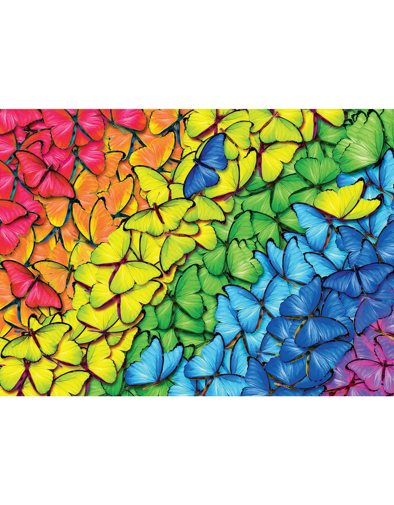 """Eurographics """"Butterfly Rainbow"""" 1000 Piece Puzzle"""