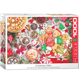 """Eurographics """"Christmas Table"""" 1000 Piece Puzzle"""