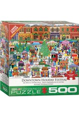 """Eurographics """"Downtown Holiday Festival""""  500 Piece Puzzle"""