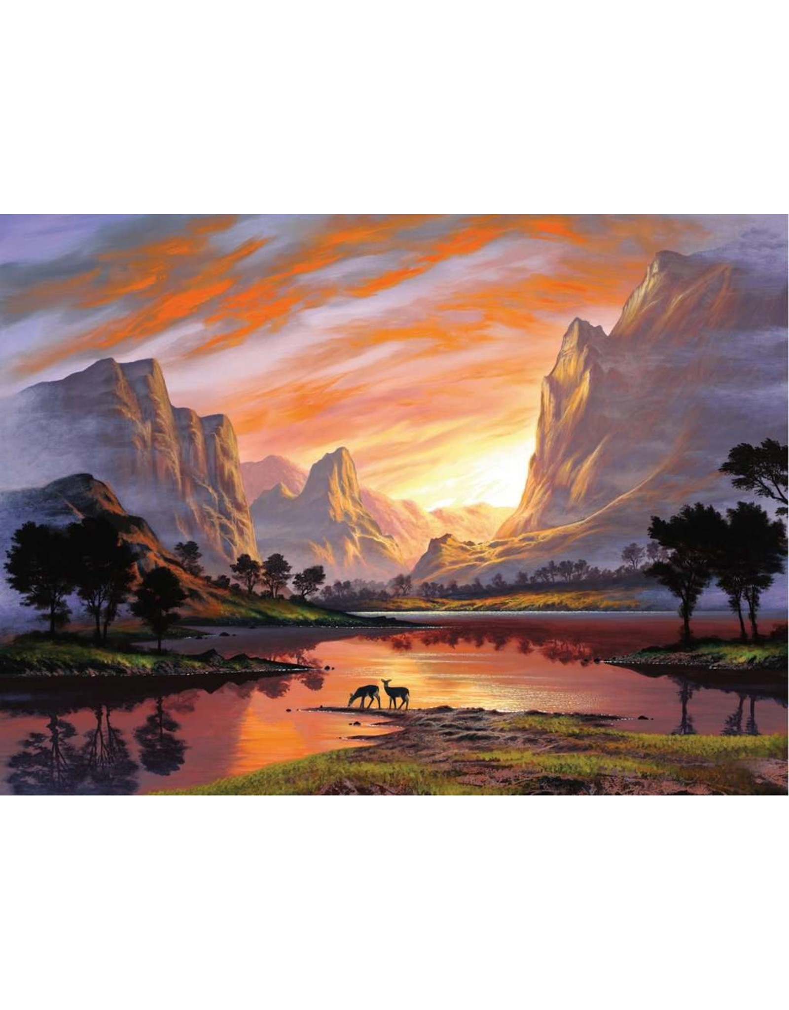 "Ravensburger ""Tranquil Sunset"" 500 Piece Puzzle"