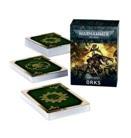 Games Workshop Orks: Datacards
