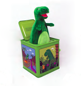 Jack Rabbit Creations T. Rex Jack-in-the-Box