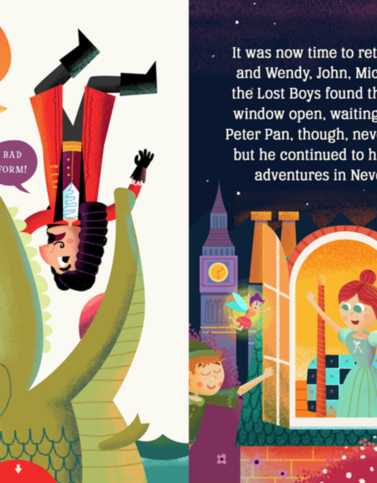 Peter Pan:  Lit for Little People