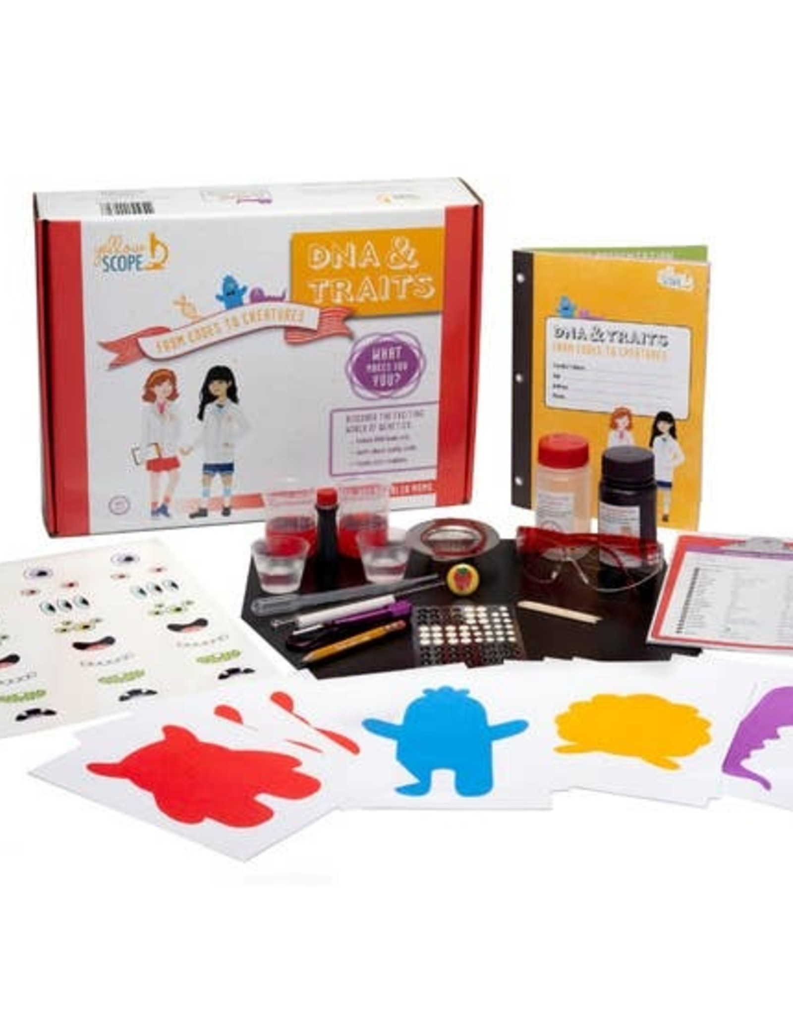 Yellow Scope DNA & Traits Kit:  From Codes to Creatures