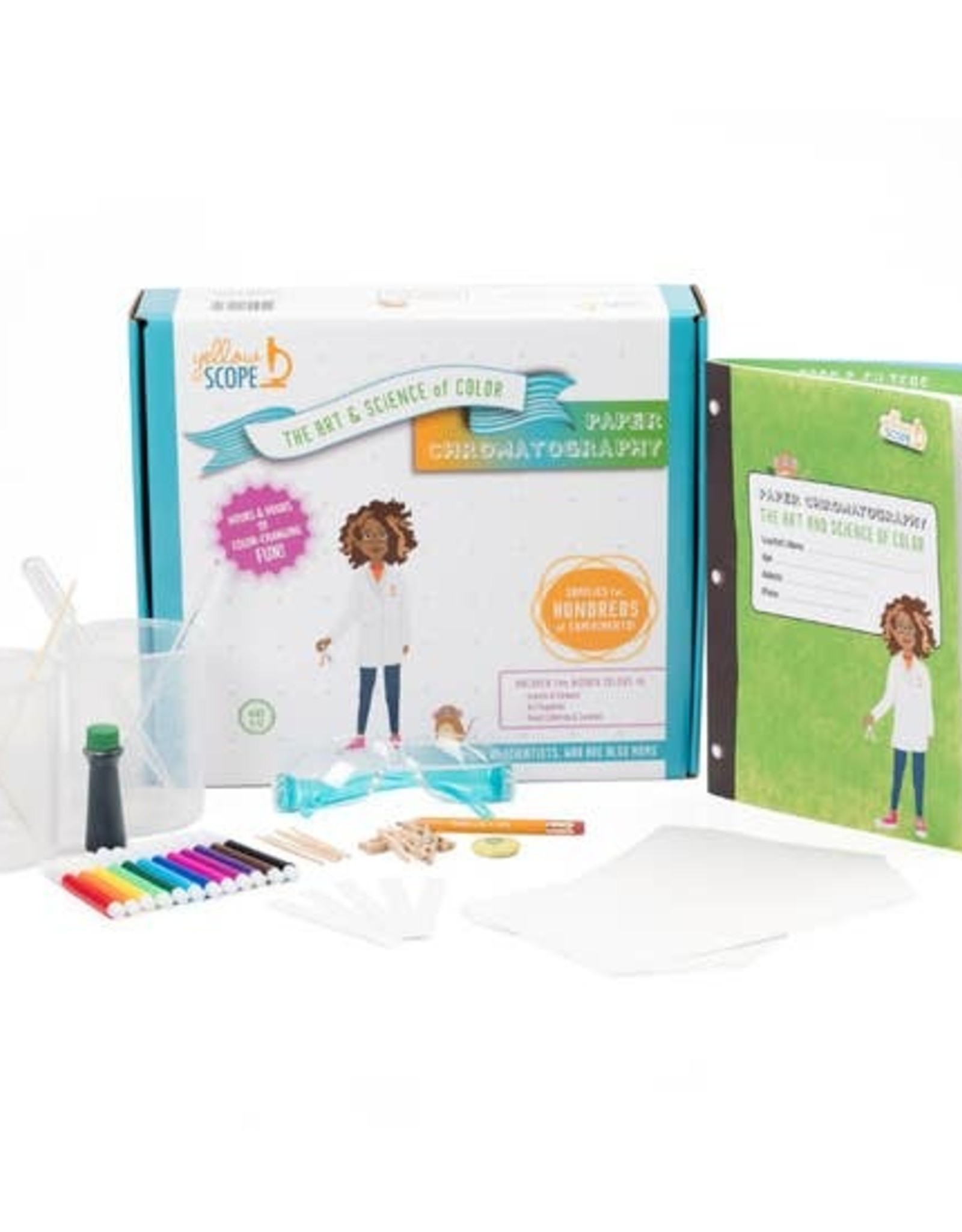 Yellow Scope Paper Chromatography Kit:  The Art & Science of Color