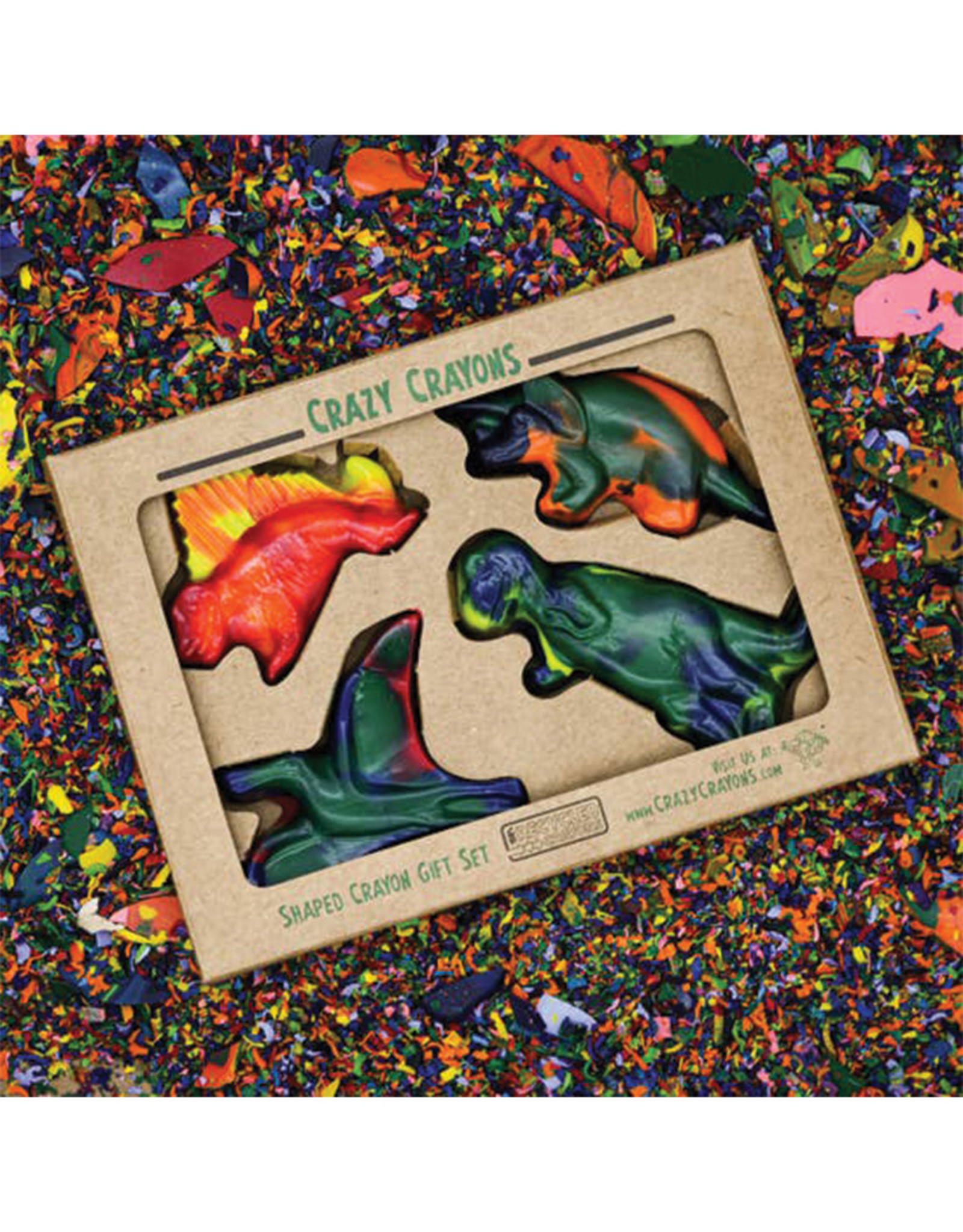 Crazy Crayons Dinosaur Recycled Crayons