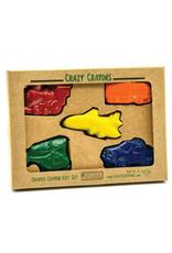Crazy Crayons Transportation  Recycled Crayons