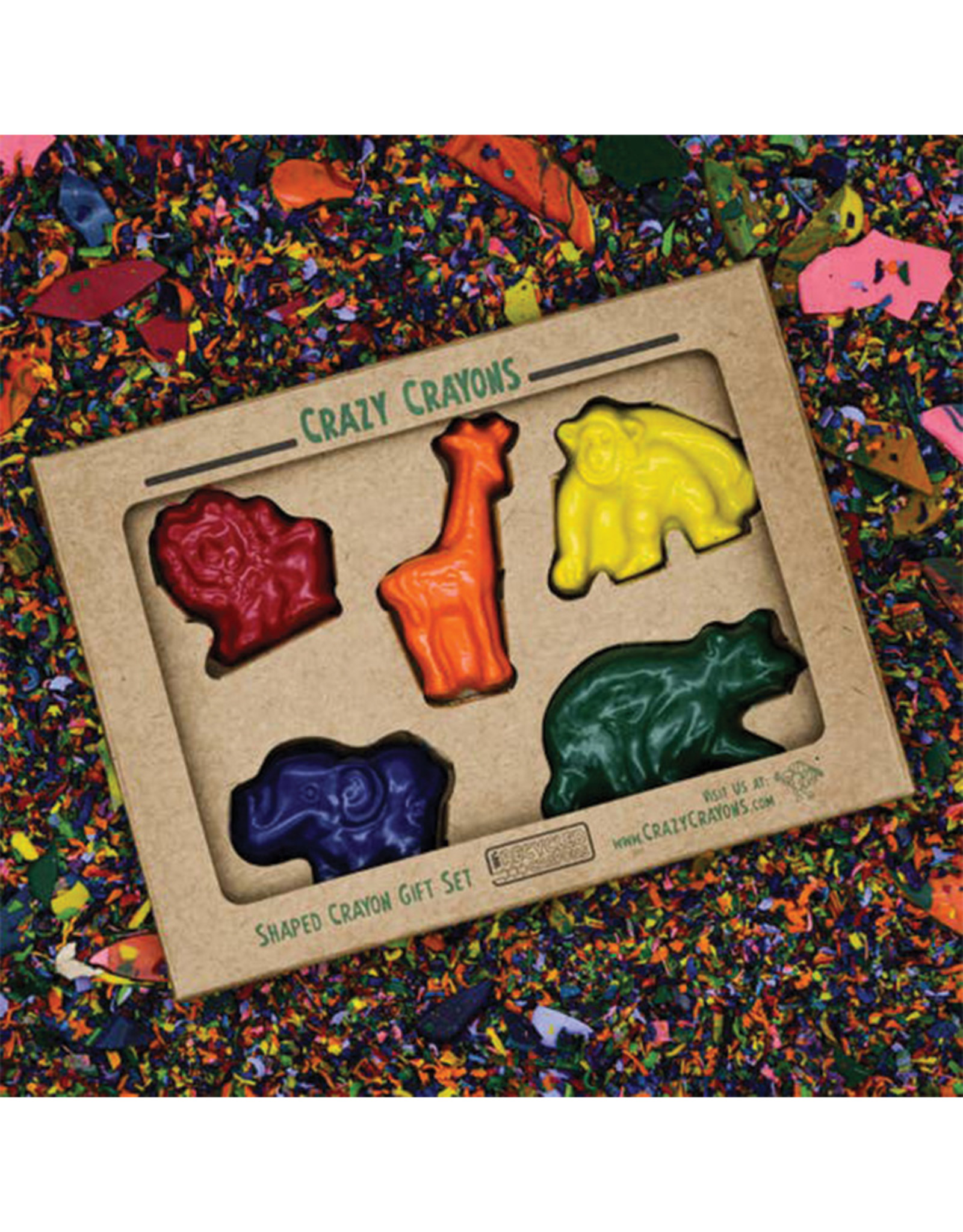 Crazy Crayons Zoo Recycled Crayons