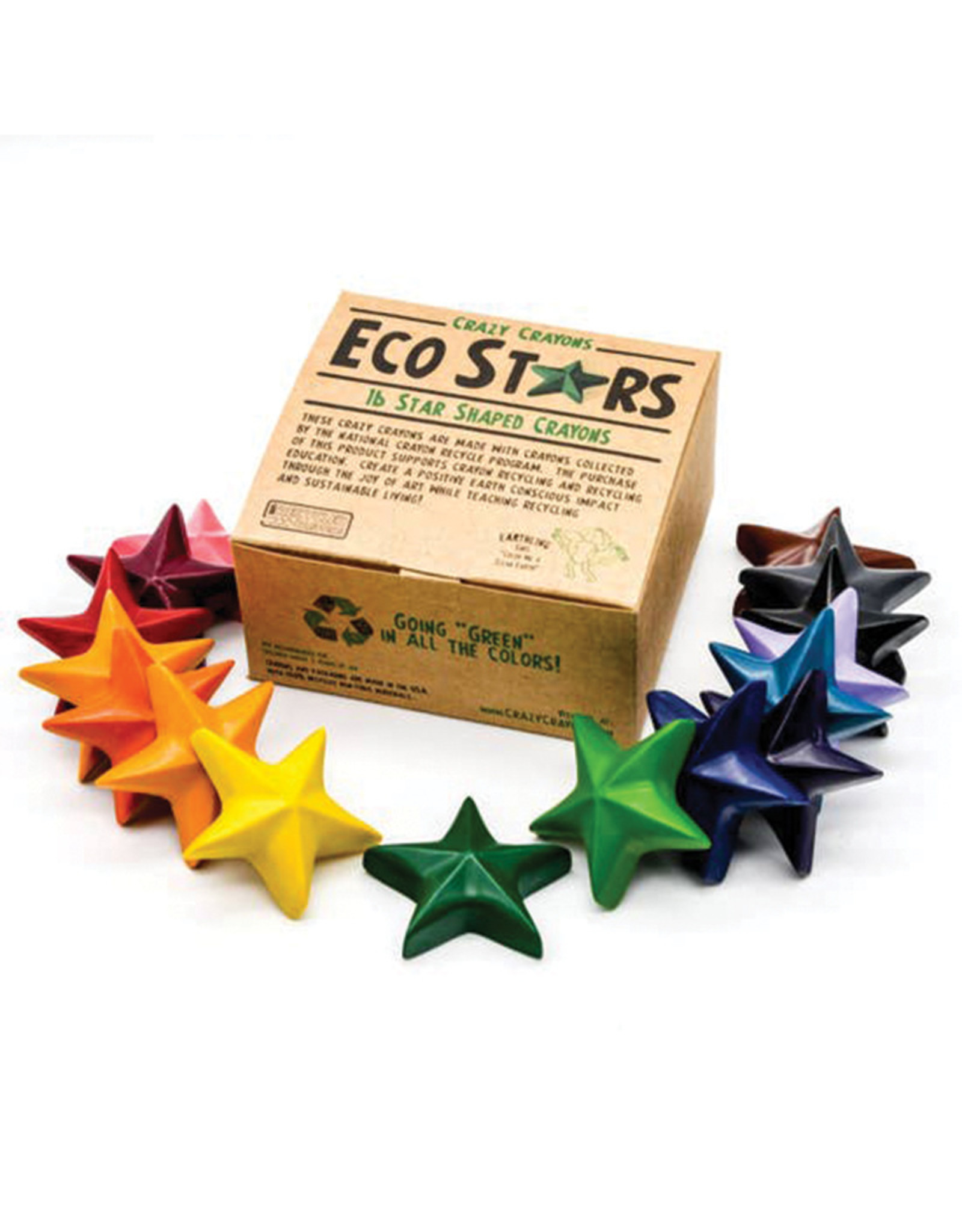 Crazy Crayons Eco Star Recycled Crayons