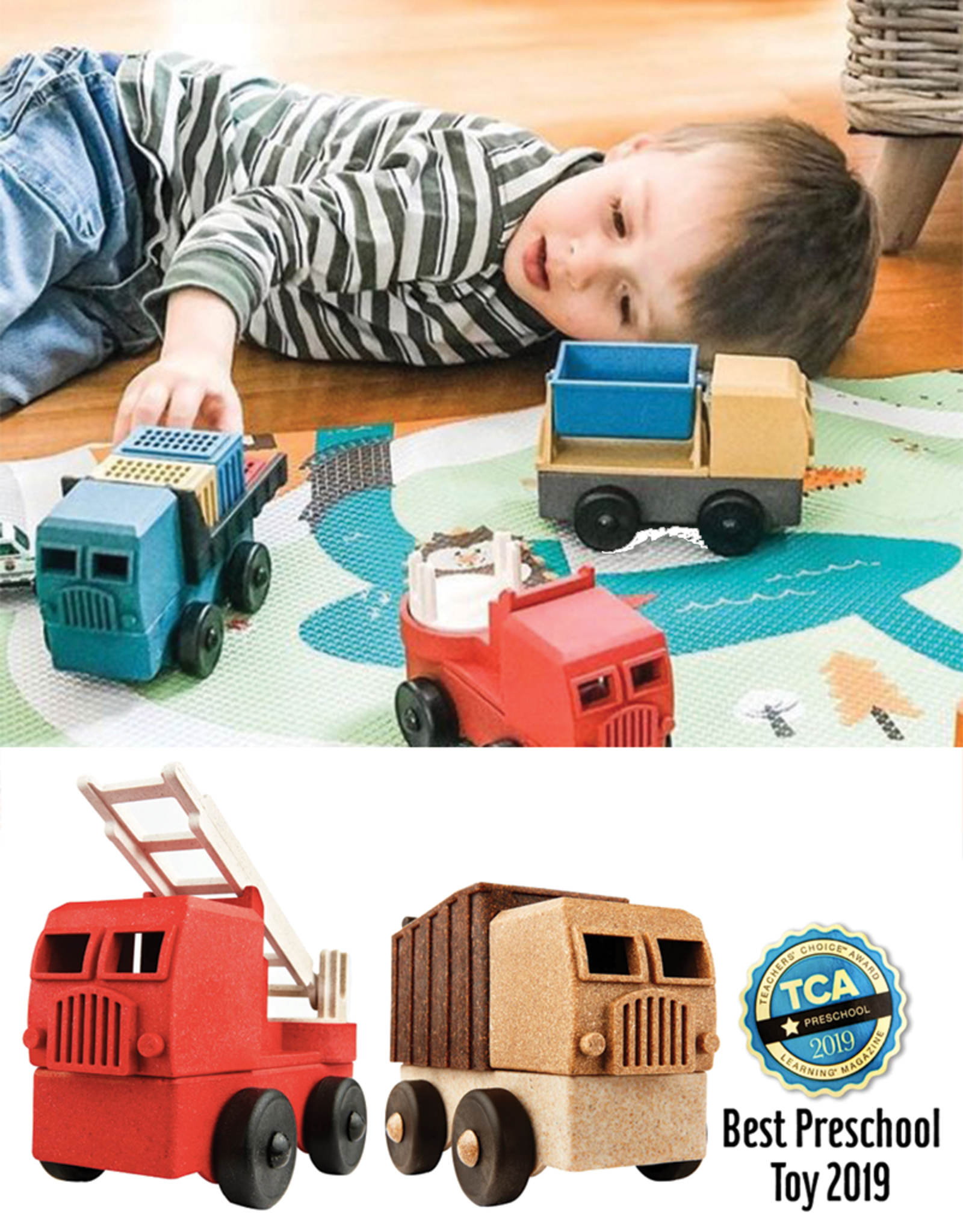 Luke's Toy Factory EcoTruck Recycling Truck