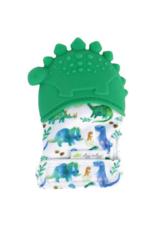 Itzy Ritzy Dinosaur Silicone Teething Mitt