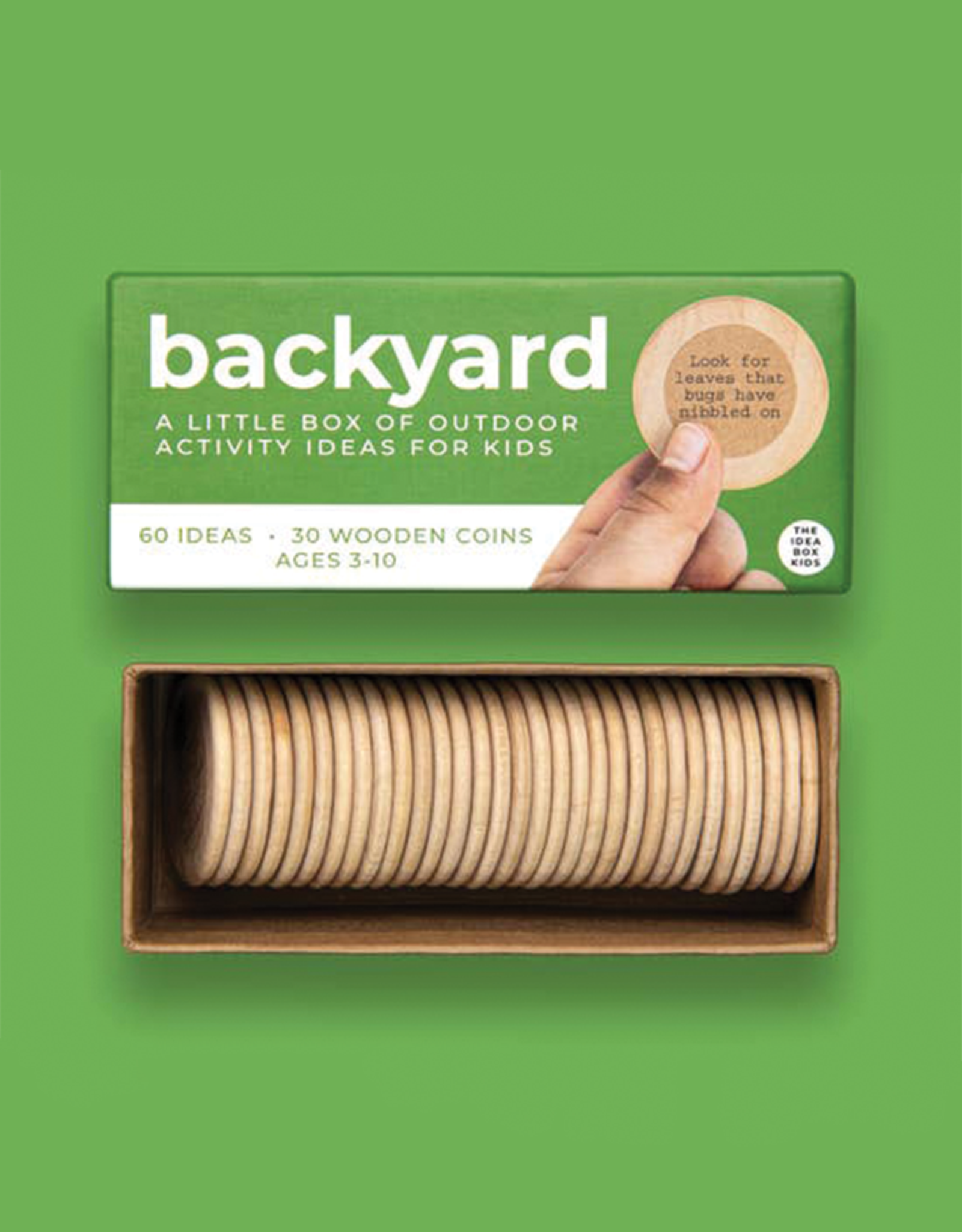 The Idea Box Kids Backyard Outdoor Nature Box for Kids