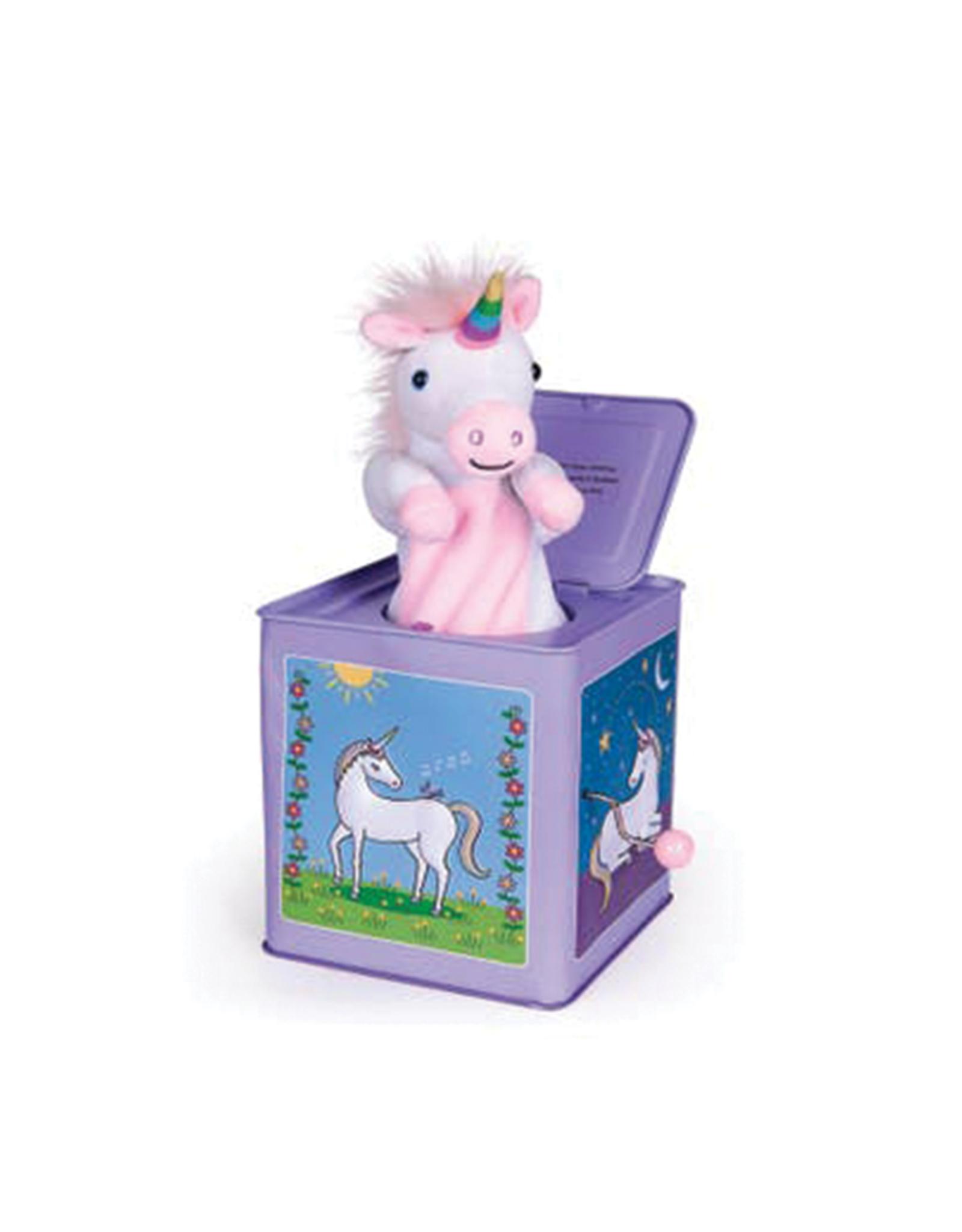 Jack Rabbit Creations Unicorn Jack-in-the-Box
