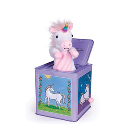 Jack Rabbit Creations Unicorn Jack-in-the-Box