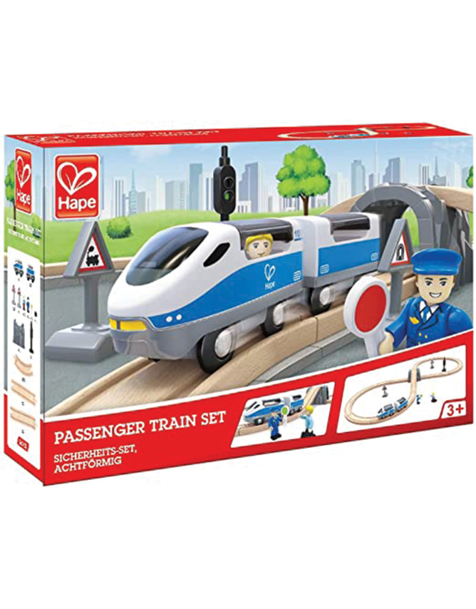 Hape Passenger Train Set