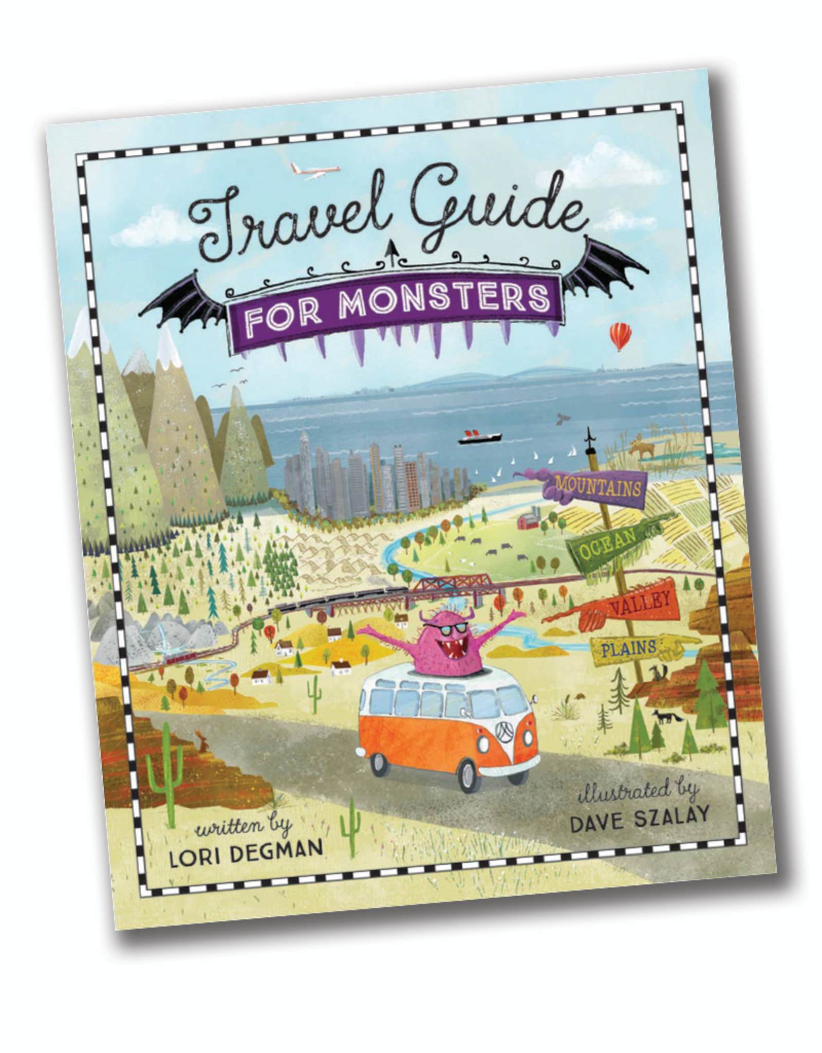 Sleeping Bear Press Travel Guide for Monsters
