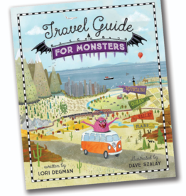 Sleeping Bear Press Travel Guide for Monsters