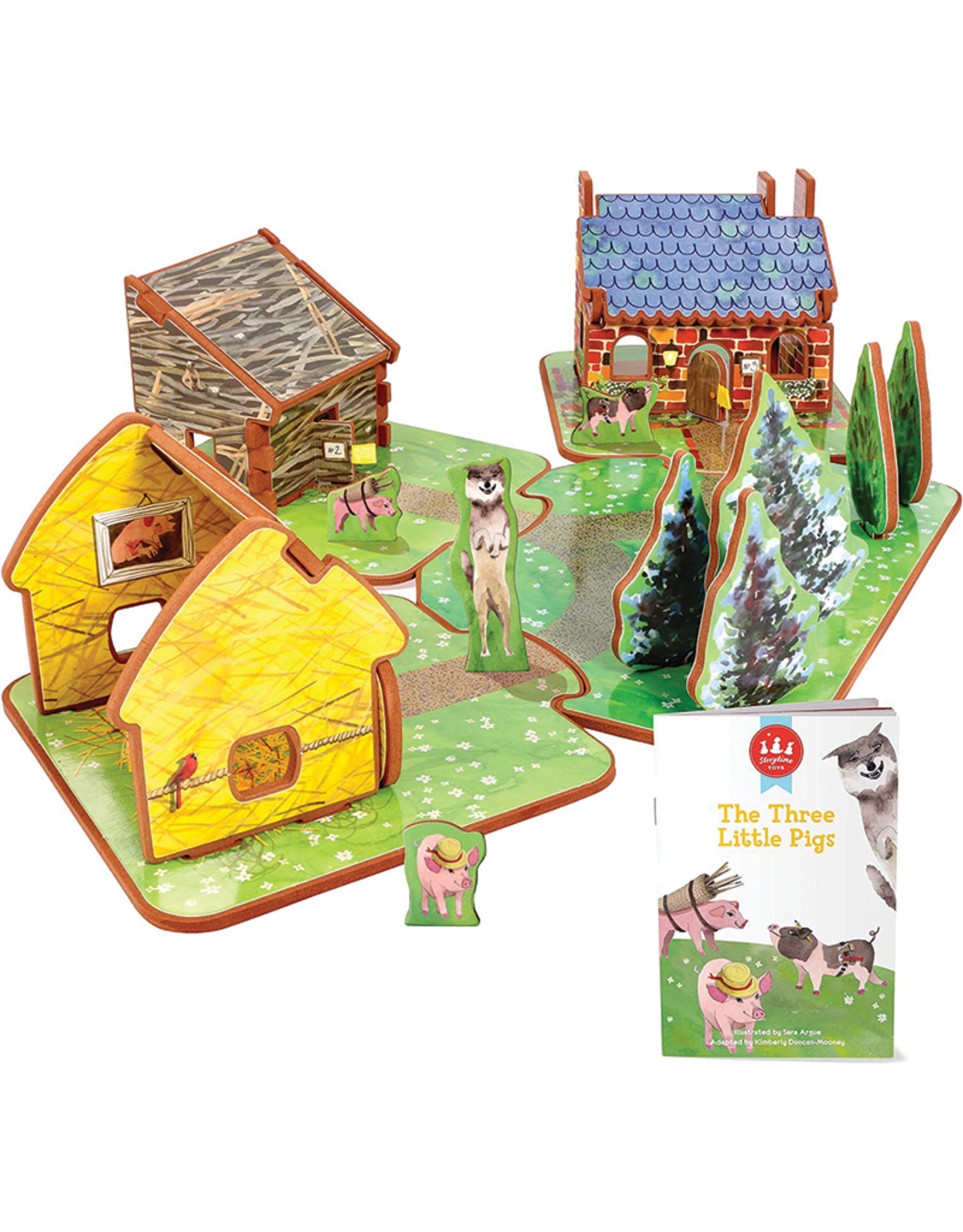 Storytime Toys Storytime Toys The Thee Pigs Play Set