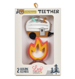 Lucy Darling Little Camper Teether Set