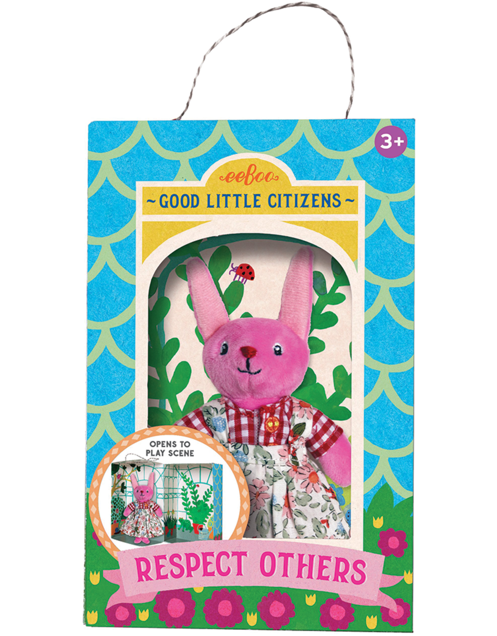 eeBoo Good Little Citizen Bunny