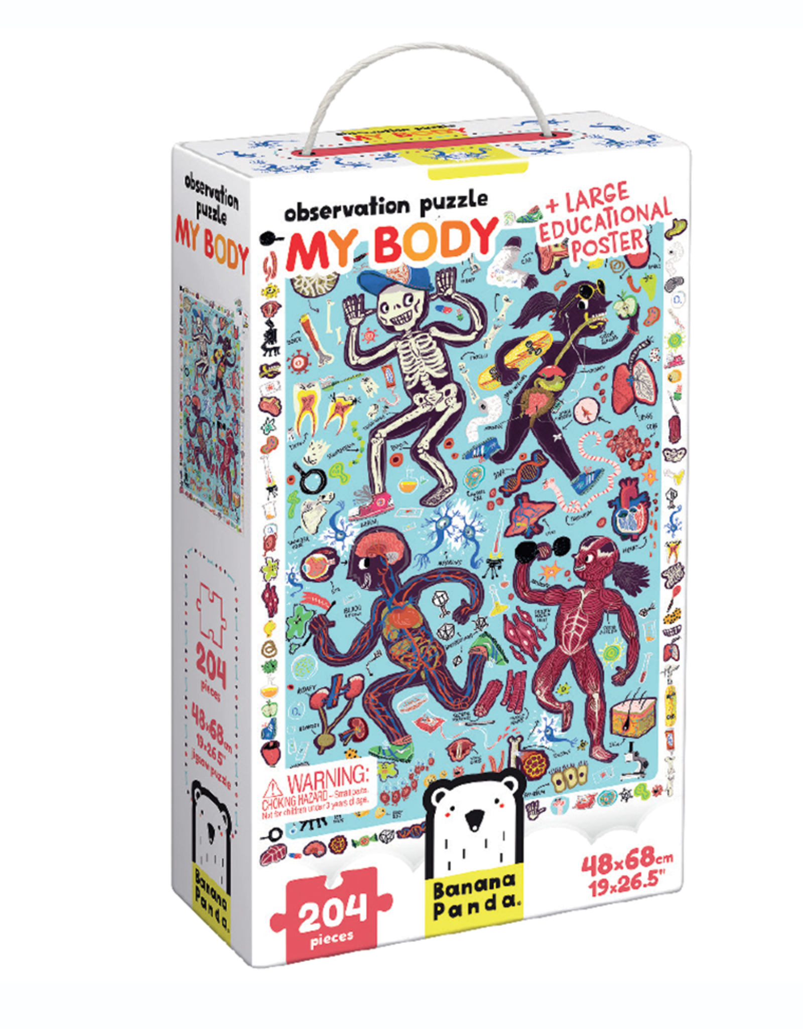 My Body Observation Puzzle