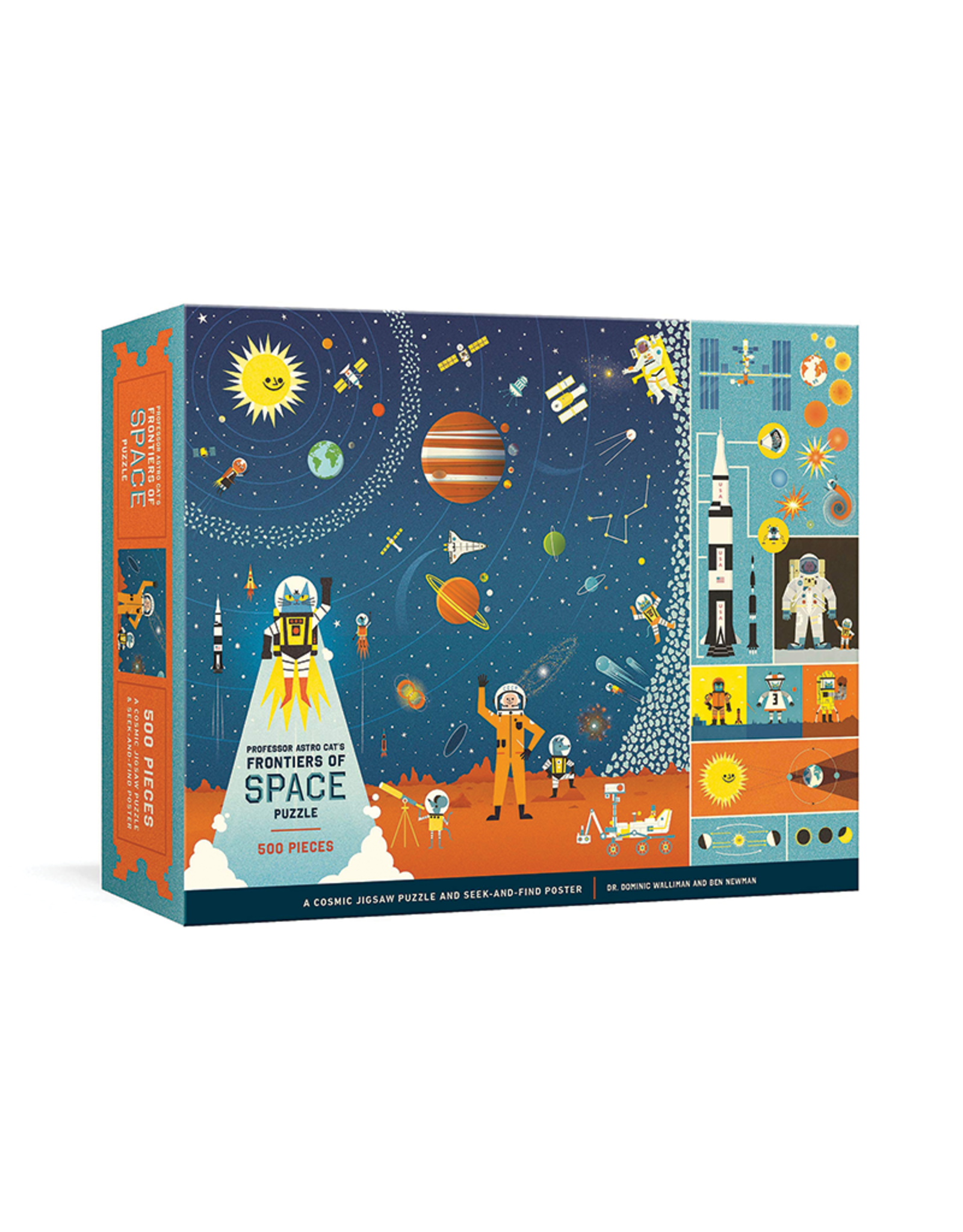 Professor Astro Cat's Frontiers of Space Puzzle