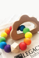 Legacy Learning Academy Rainbow & Cloud Teether Toy
