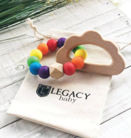 Legacy Learning Academy Rainbow & Cloud Teether Toy