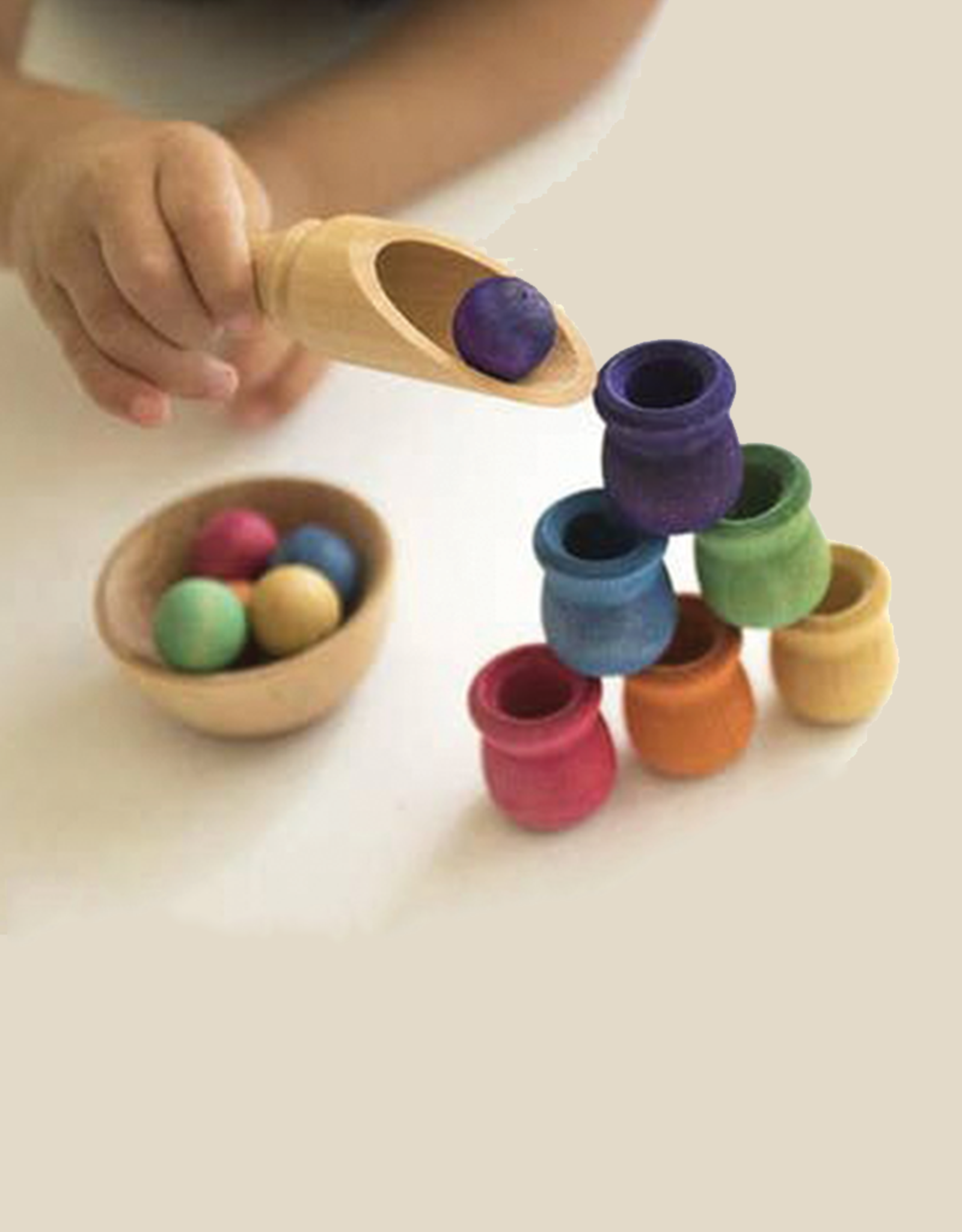 Legacy Learning Academy Bean Pot & Ball Sorting Set