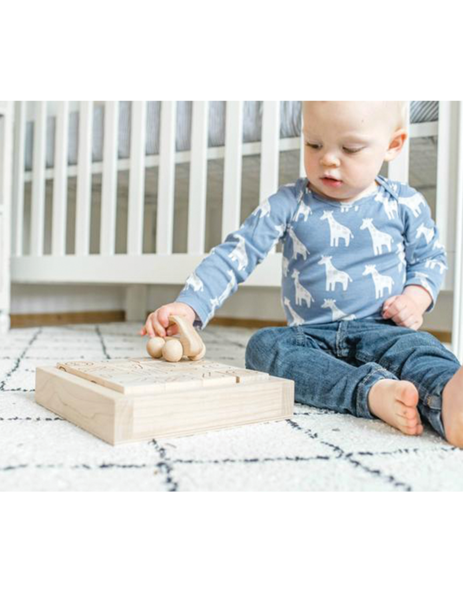 Legacy Learning Academy Wooden Car Baby Toy
