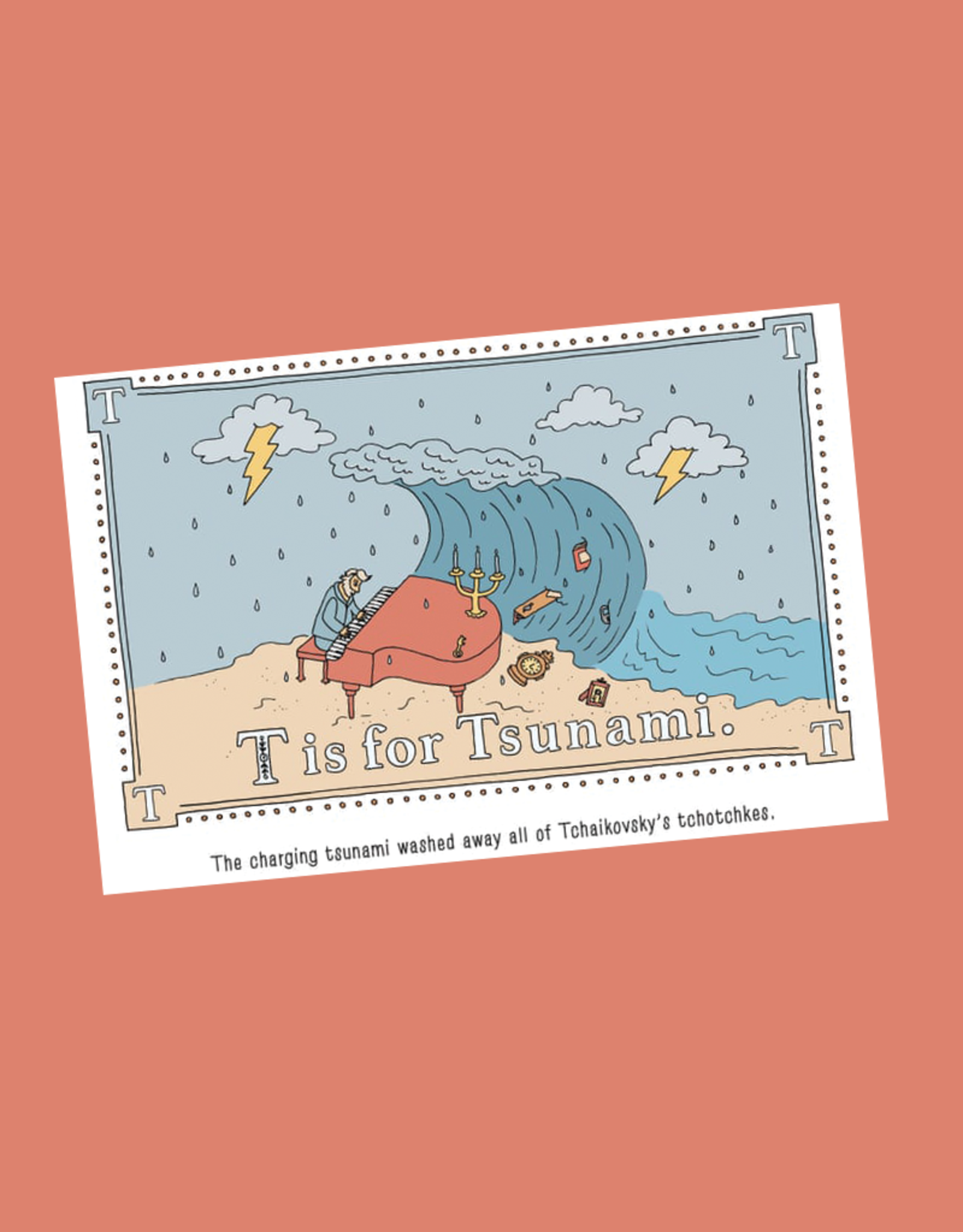 P is for Pterodactyl: The Worse Alphabet Book Ever