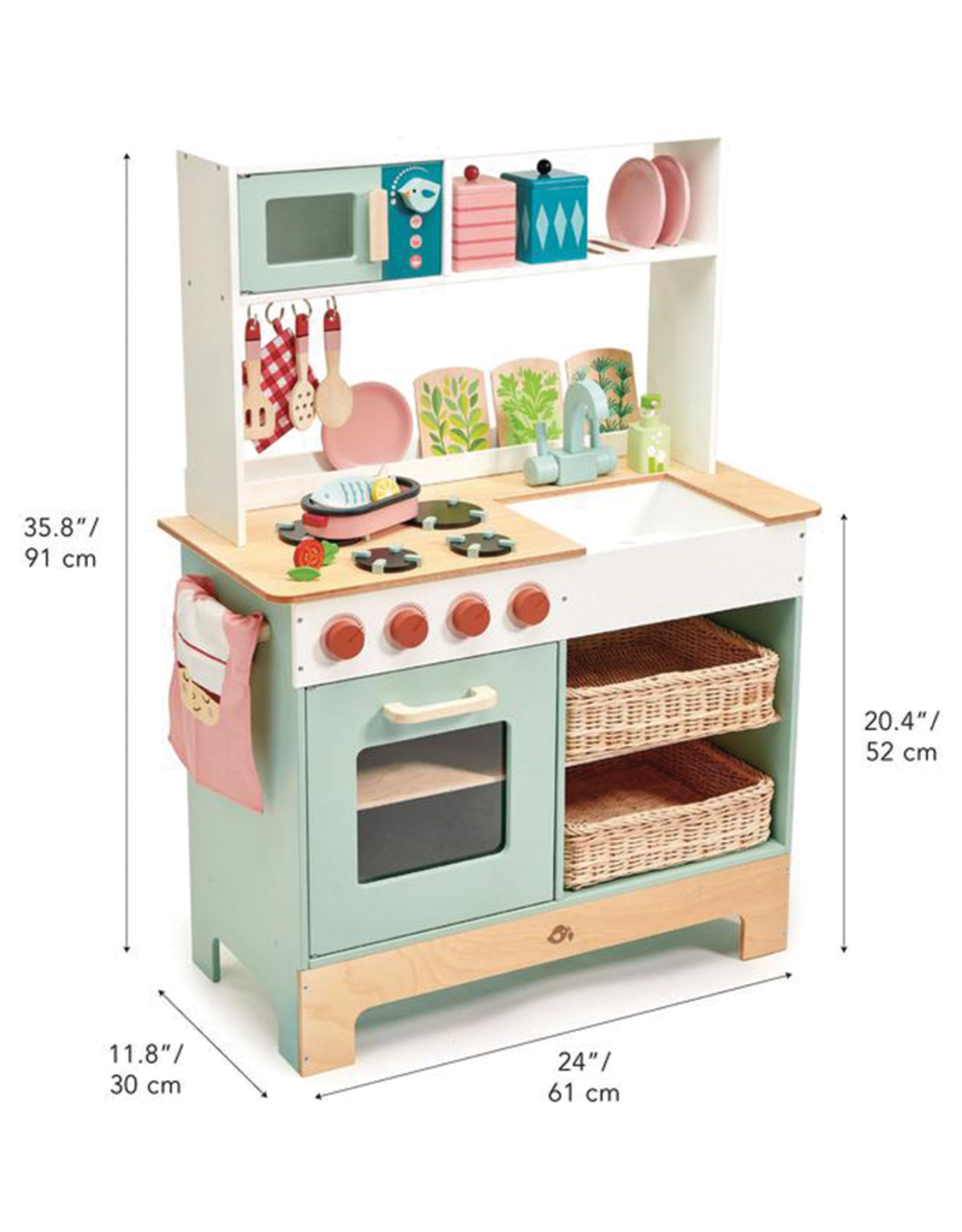 Tender Leaf Mini Chef Kitchen Range