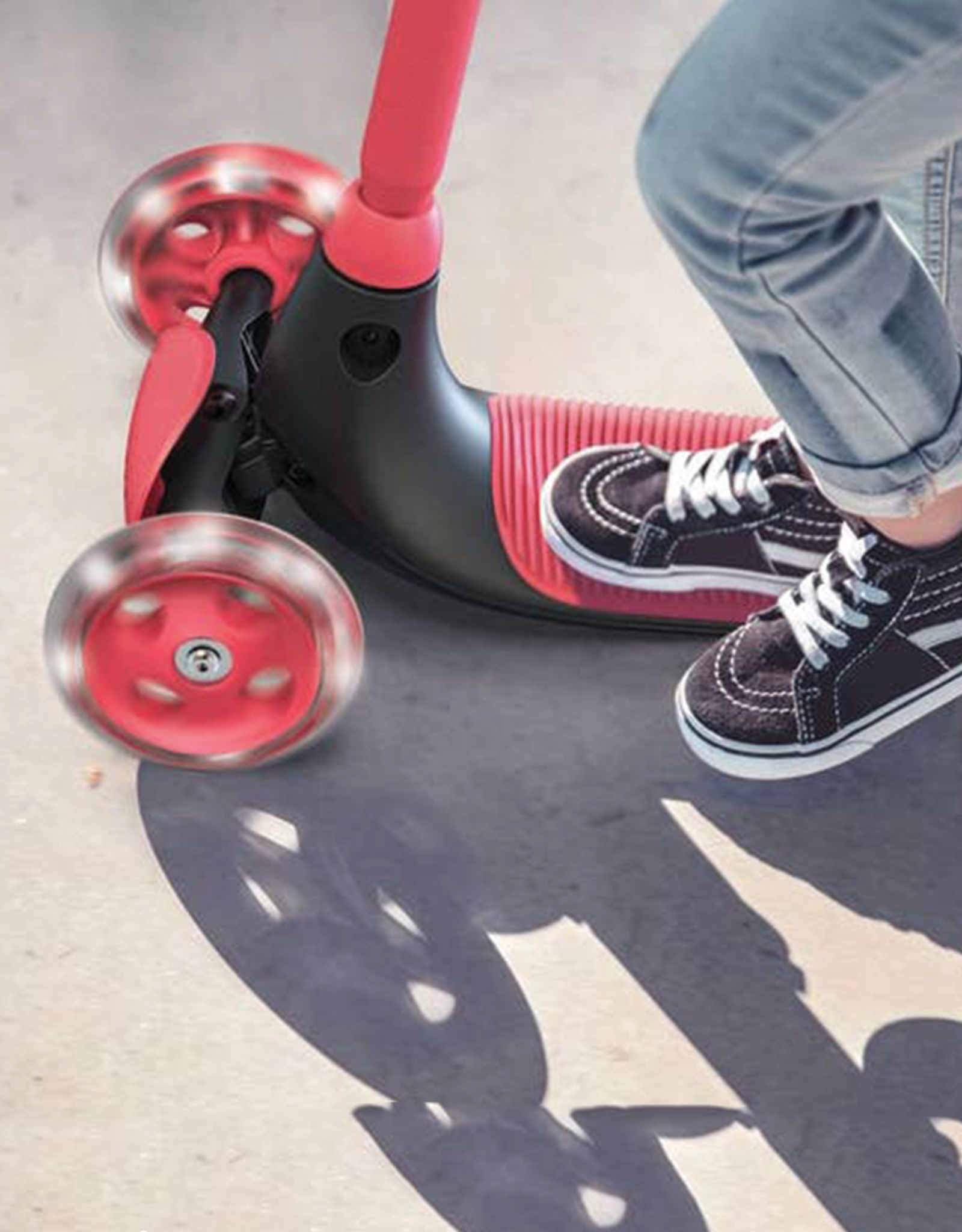 Yvolution YGlider Kiwi Scooter, Red