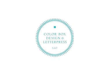 Color Box Design & Letterpress
