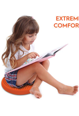 Bouncyband Wiggle Seat Sensory Cushion, 27cm Orange