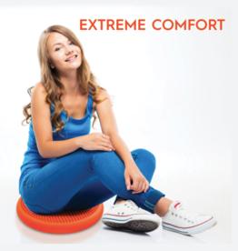 Bouncyband Wiggle Seat Sensory Cushion, 33cm Blue