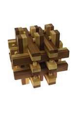 Project Genius Basket Shoot Bamboo Puzzle