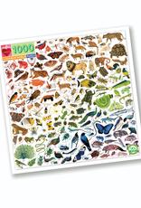 eeBoo A Rainbow World 1000 -pc Puzzle