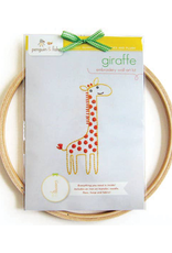 Penguin and Fish Giraffe Embroidery Kit for Beginners