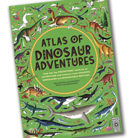 Wide Eyed Editions Atlas of Dinosaur Adventures