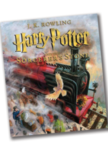 Harry Potter and the Sorcerer's Stone , Illustrated Edition